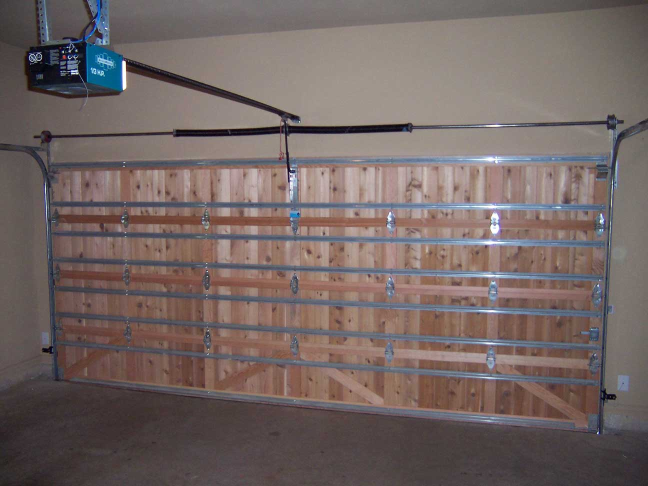 All Wood Garage Doors | Alpha Omega Garage Doors 972-599-1224