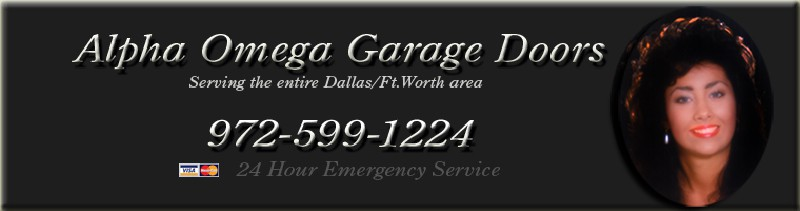 Alpha Omega Garage Doors 972-599-1224