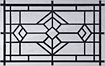 temple-short designer glass garage door windows
